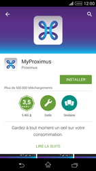 Sony Xperia Z1 Compact D5503 - Applications - MyProximus - Étape 8
