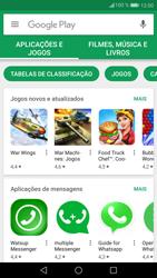 Huawei P9 Lite - Android Nougat - Aplicações - Como pesquisar e instalar aplicações -  3