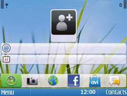 Nokia E5-00 - Mms - Configuration manuelle - Étape 1
