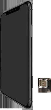 Apple iPhone XR - Appareil - comment insérer une carte SIM - Étape 4