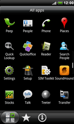HTC S510e Desire S - Internet - Enable or disable - Step 3