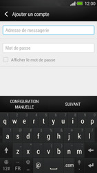 HTC One - E-mail - Configuration manuelle - Étape 6