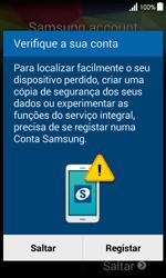 Samsung Galaxy Ace 4 - Primeiros passos - Como ligar o telemóvel pela primeira vez -  16