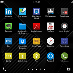 BlackBerry Passport - Internet - Configuration manuelle - Étape 3