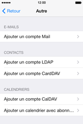 Apple iPhone 4 S iOS 7 - E-mail - Configuration manuelle - Étape 7
