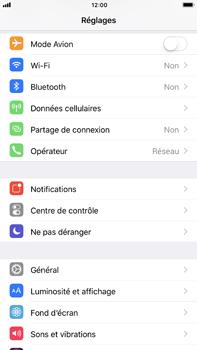 Apple iPhone 7 Plus iOS 11 - Réseau - Utilisation à l