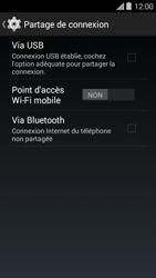 Bouygues Telecom Ultym 5 II - Internet et connexion - Utiliser le mode modem par USB - Étape 7