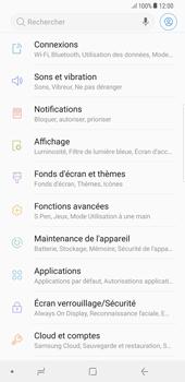 Samsung Galaxy S8 Plus - Android Oreo - Internet - Désactiver les données mobiles - Étape 4