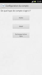 Sony LT28h Xperia ion - E-mail - Configuration manuelle - Étape 6