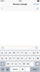 Apple iPhone 6 Plus iOS 8 - Contact, Appels, SMS/MMS - Envoyer un SMS - Étape 4