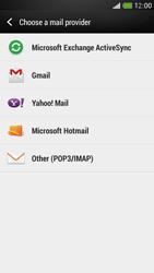 HTC One Mini - E-mail - Manual configuration - Step 5