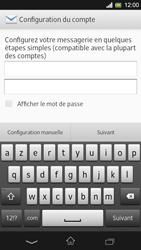 Sony Xpéria SP - E-mails - Ajouter ou modifier un compte e-mail - Étape 6