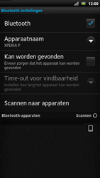 Sony LT22i Xperia P - Bluetooth - headset, carkit verbinding - Stap 8