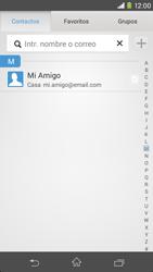 Sony Xperia M2 - E-mail - Escribir y enviar un correo electrónico - Paso 6