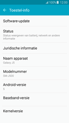 Samsung J500F Galaxy J5 - Software update - update installeren zonder PC - Stap 5
