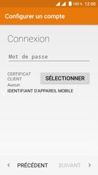 Crosscall Trekker M1 Core - E-mails - Ajouter ou modifier votre compte Outlook - Étape 7