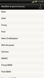 HTC Z520e One S - Mms - Configuration manuelle - Étape 9