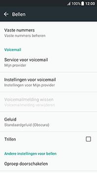HTC U11 (2PZC100) - Voicemail - Handmatig instellen - Stap 5