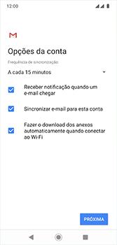 Motorola Moto G7 - Email - Como configurar seu celular para receber e enviar e-mails - Etapa 10