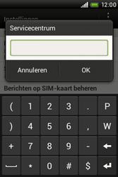 HTC A320e Desire C - SMS - handmatig instellen - Stap 6