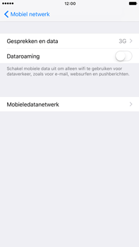 Apple Apple iPhone 6s Plus iOS 10 - Netwerk - 4G/LTE inschakelen - Stap 5