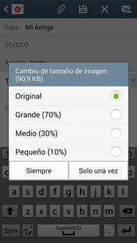 Samsung Galaxy Note 3 - E-mail - Escribir y enviar un correo electrónico - Paso 17