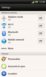 HTC C525u One SV - Network - Usage across the border - Step 4