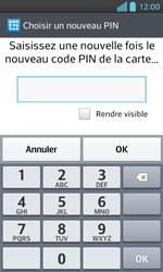 LG Optimus L5 II - Sécuriser votre mobile - Activer le code de verrouillage - Étape 10
