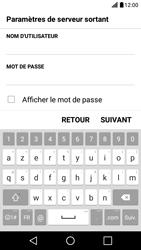 LG X Screen - E-mail - Configuration manuelle - Étape 15