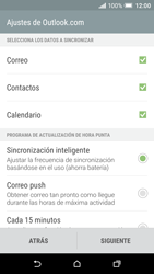 HTC One A9 - E-mail - Configurar Outlook.com - Paso 8