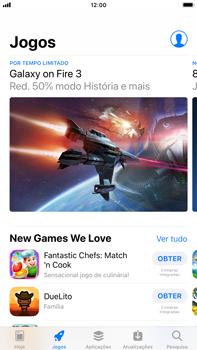 Apple iPhone 8 Plus - iOS 12 - Aplicações - Como pesquisar e instalar aplicações -  5