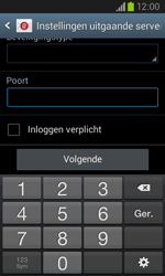 Samsung Galaxy Core (I8260) - E-mail - Account instellen (POP3 zonder SMTP-verificatie) - Stap 15