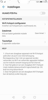 Huawei P20 Pro Dual-SIM (Model CLT-L29) - WiFi - Mobiele hotspot instellen - Stap 6