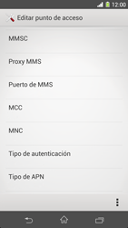 Sony Xperia Z1 - Mensajería - Configurar el equipo para mensajes multimedia - Paso 13