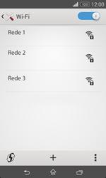 Sony Xperia E1 - Wi-Fi - Como ligar a uma rede Wi-Fi -  6