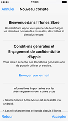 Apple iPhone SE - Applications - Créer un compte - Étape 10