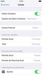 Apple iPhone iOS 10 - Internet (APN) - Como configurar a internet do seu aparelho (APN Nextel) - Etapa 5