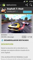Sony Xperia U - Aplicaciones - Descargar aplicaciones - Paso 11