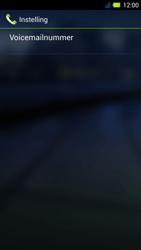 Acer Liquid E3 - Voicemail - Handmatig instellen - Stap 8