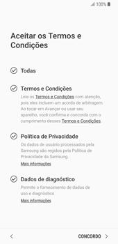 Samsung Galaxy S9 - Primeiros passos - Como ativar seu aparelho - Etapa 9