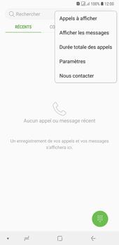 Samsung Galaxy A7 (2018) - Messagerie vocale - configuration manuelle - Étape 7