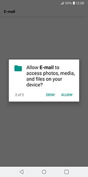 LG V30 - Email - Manual configuration IMAP without SMTP verification - Step 21