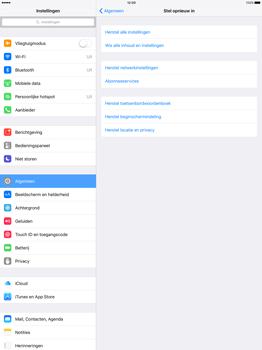Apple iPad Pro 12.9 inch met iOS9 (Model A1652) - Instellingen aanpassen - Fabrieksinstellingen terugzetten - Stap 4