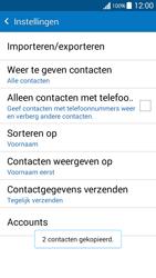 Samsung G530FZ Galaxy Grand Prime - Contacten en data - Contacten kopiëren van SIM naar toestel - Stap 12