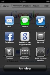 Apple iPhone 4 (iOS 6) - internet - hoe te internetten - stap 5