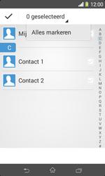 Sony Xperia E1 (D2005) - Contacten en data - Contacten overzetten via Bluetooth - Stap 7