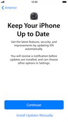 Apple iPhone 6s - iOS 12 - Primeiros passos - Como ligar o telemóvel pela primeira vez -  26
