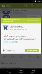 Acer Liquid Jade - Applicaties - MyProximus - Stap 9