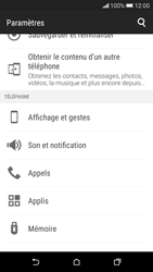 HTC Desire 626 - Messagerie vocale - Configuration manuelle - Étape 4