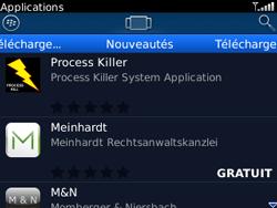 BlackBerry curve 3G - Applications - Télécharger une application - Étape 11